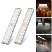 Motion Sensor Under Cabinet Light 20 LED Closet Light Stick-On Magnetic Wireless Motion