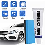 Car Body Compound Scratch Remover - [Upgrade] Car Paint Scratch Repair Wax Kits