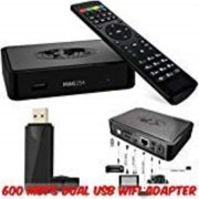 original mag 254 iptv box from info-mir + remote + hdmi cable +